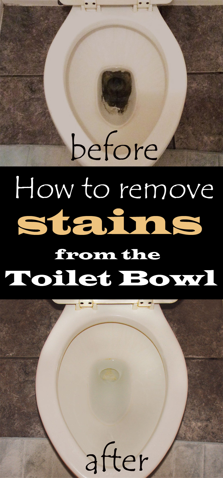 How To Clean Rust From Toilet