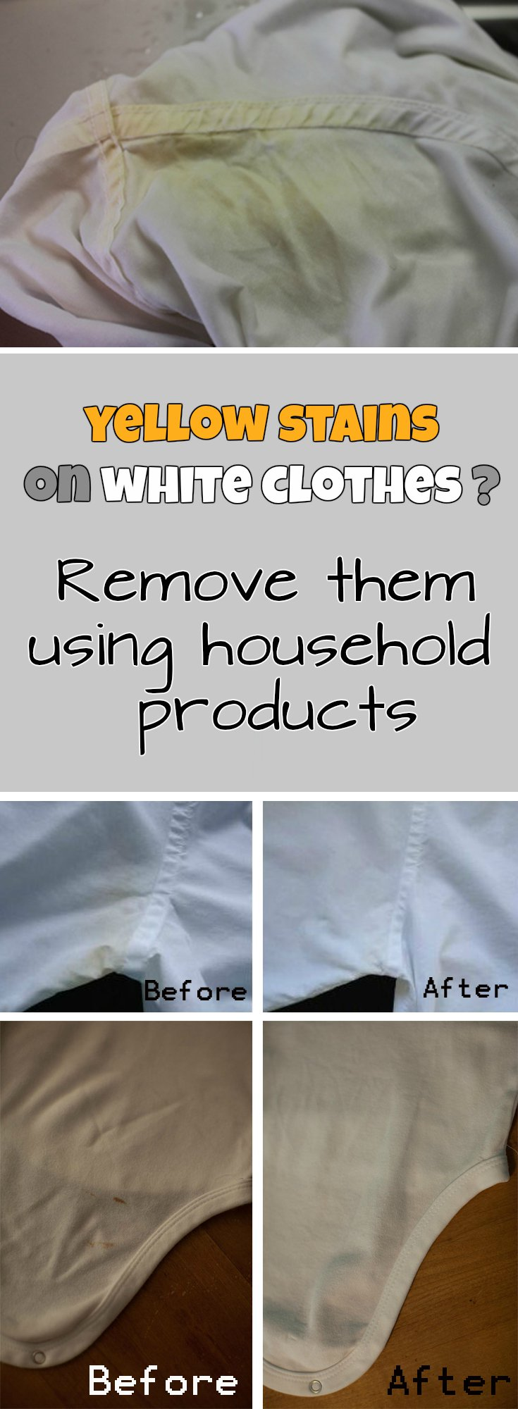 How To Use Bleach To Remove Stains On White Clothes
