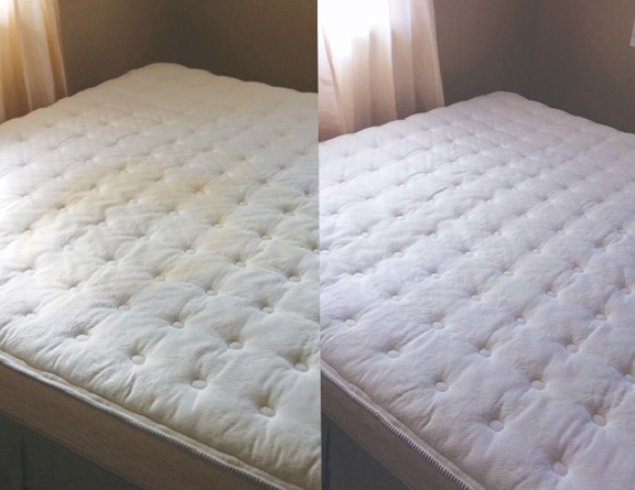 How to remove urine stains out of mattress