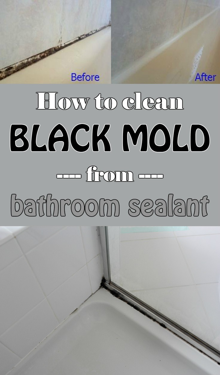 Cleaning Mold In Shower Naturally how to clean black mold from bathroom sealant - 101cleaningtips