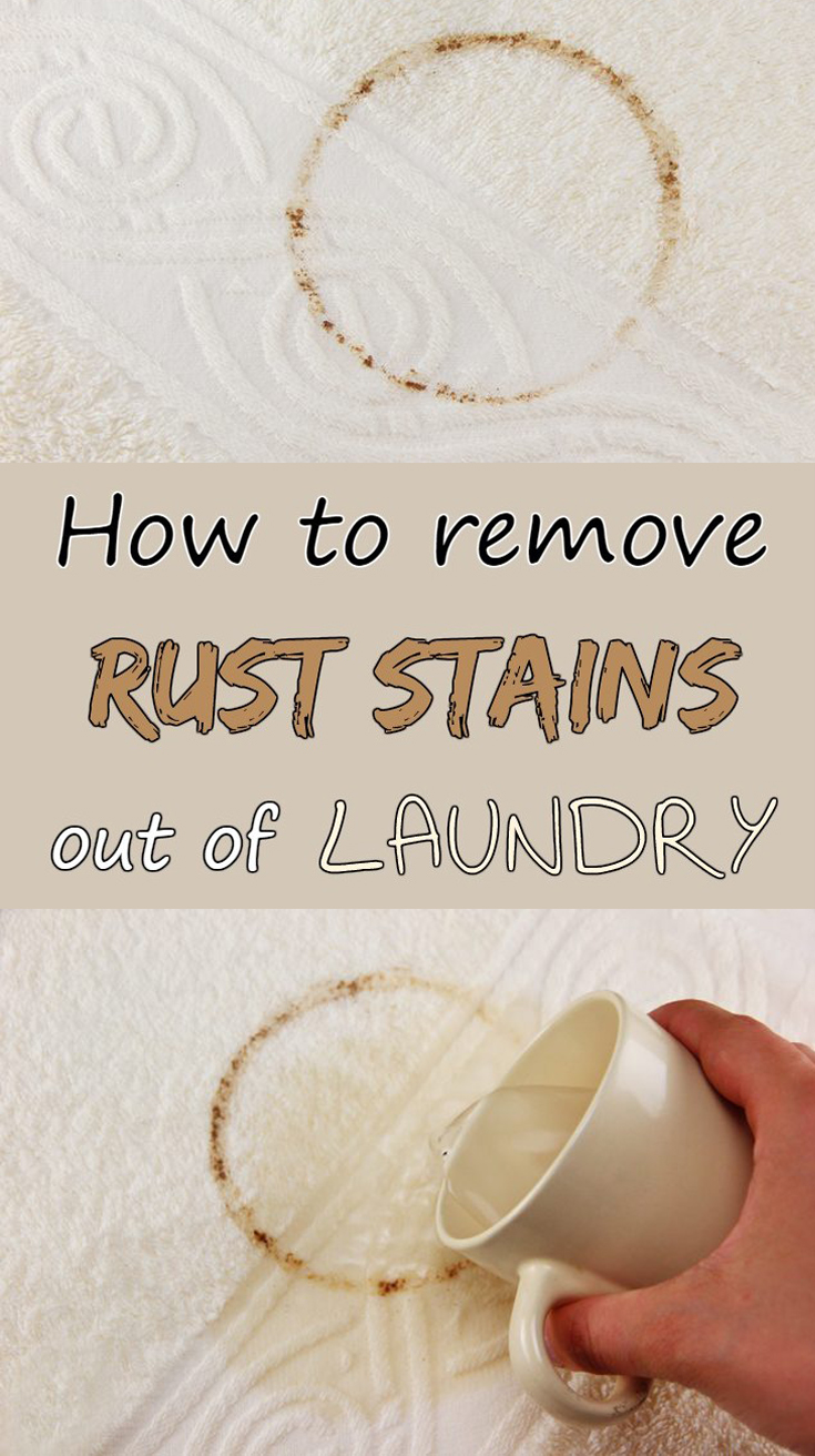 How To Remove Rust Stains Out Of Laundry 101cleaningtips Net