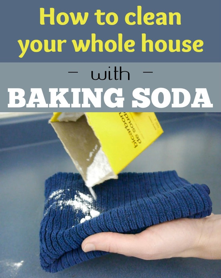 How to clean your whole house with baking soda - Things never clean baking soda ...