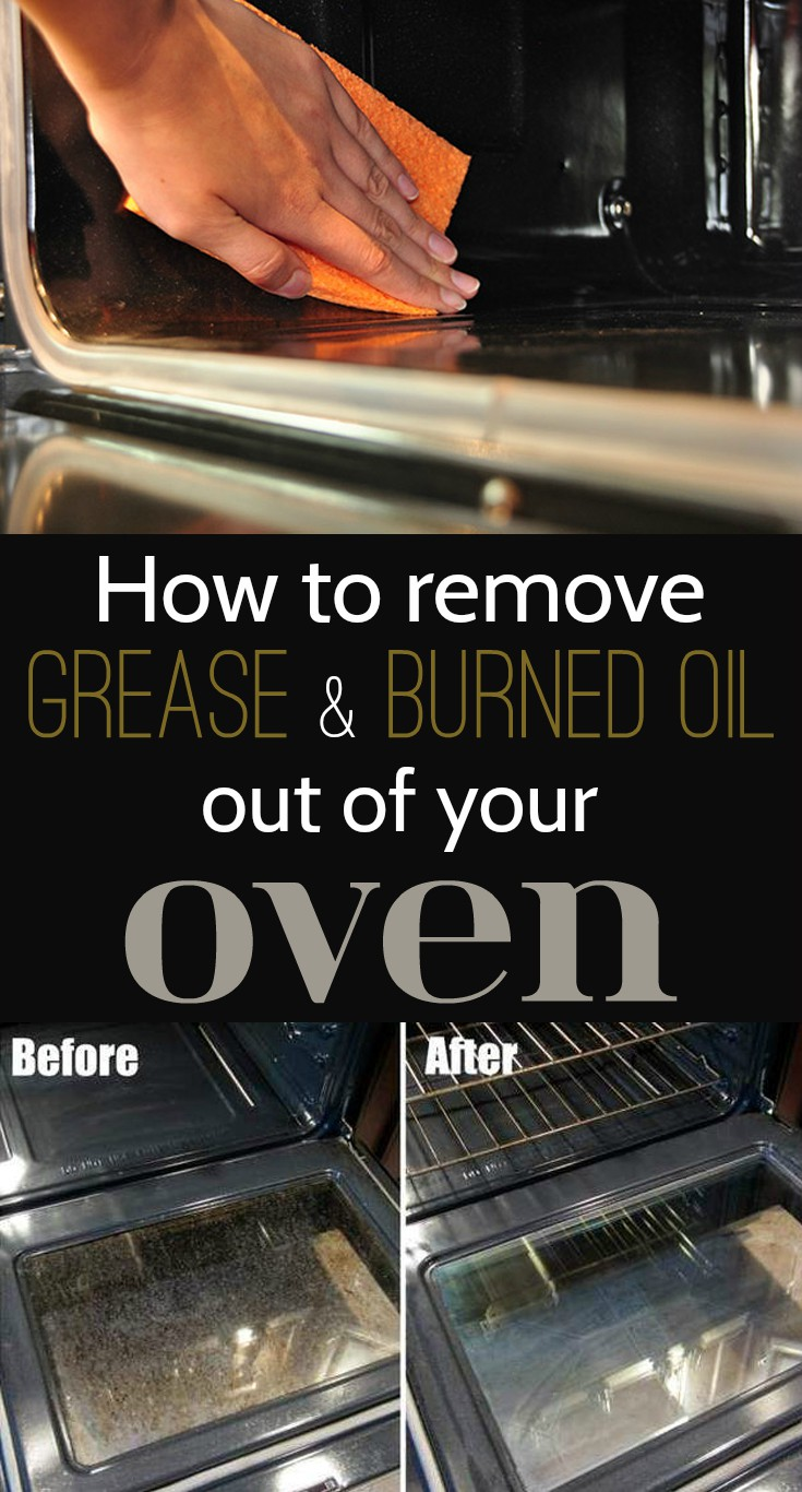 How to remove grease and burned oil out of your oven - Clean burnt grease oven pots pans ...