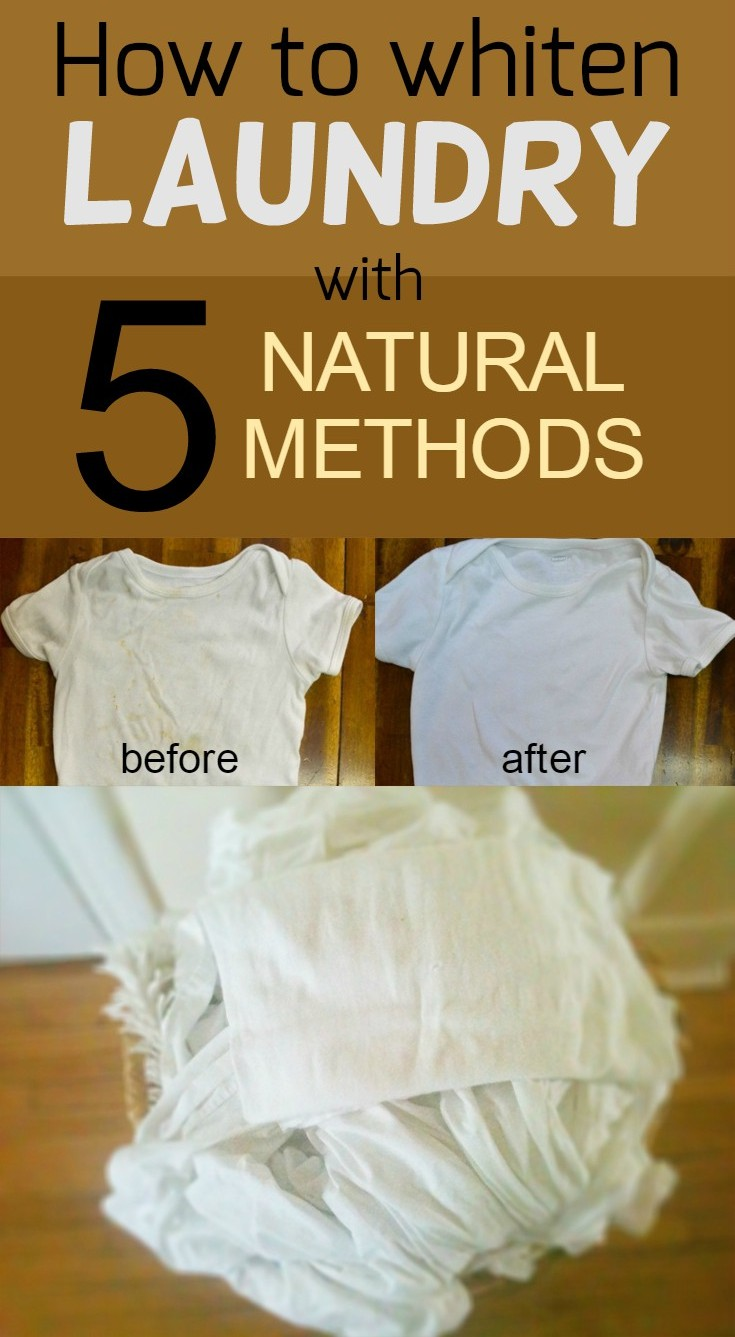 how to make clothes whiter without bleach