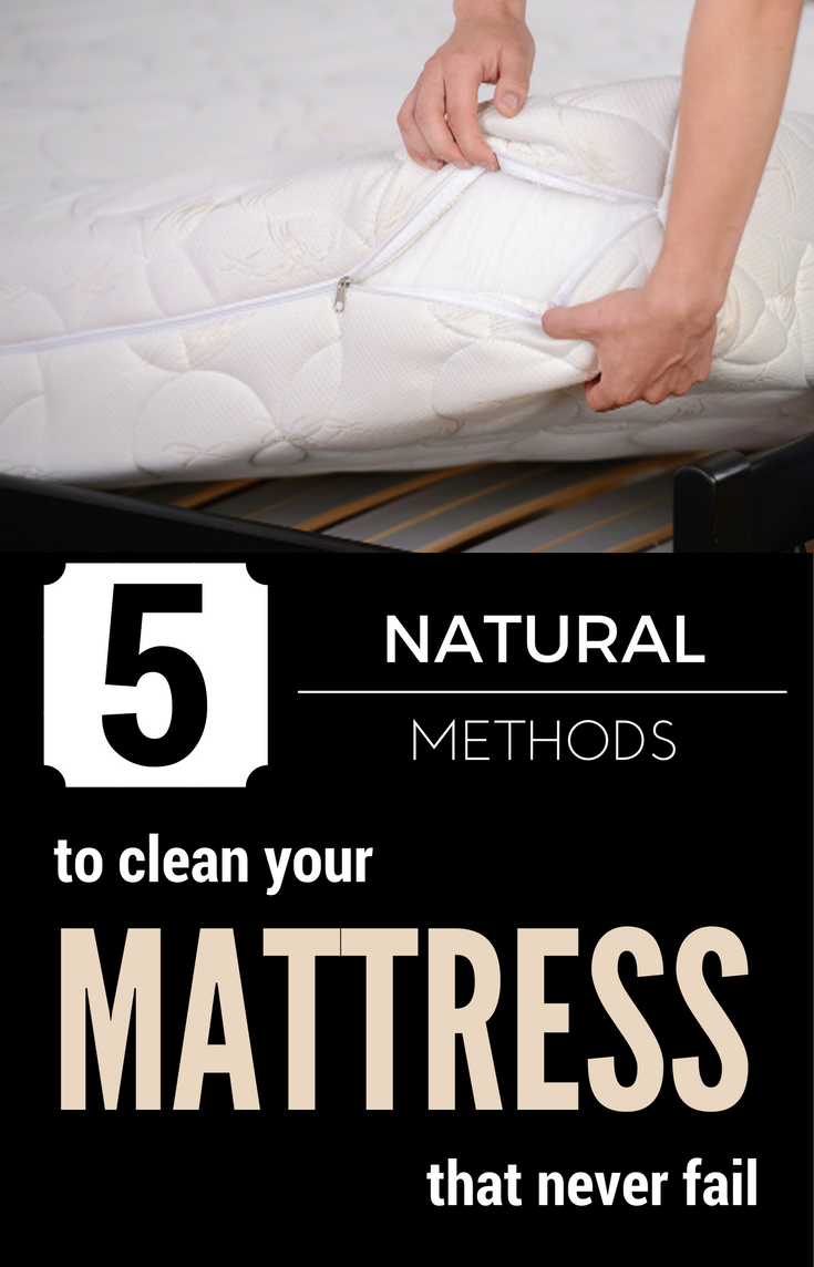 5 Natural Methods To Clean Your Mattress That Never Fail
