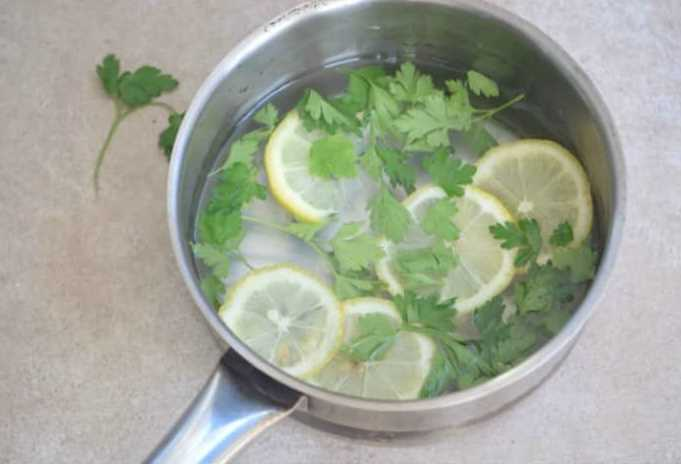 How to get rid of pesky cooking smell in the kitchen for How to get fish smell out of clothes