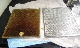 Easy And Quick Solution To Clean A Greasy Stove Hood Filter