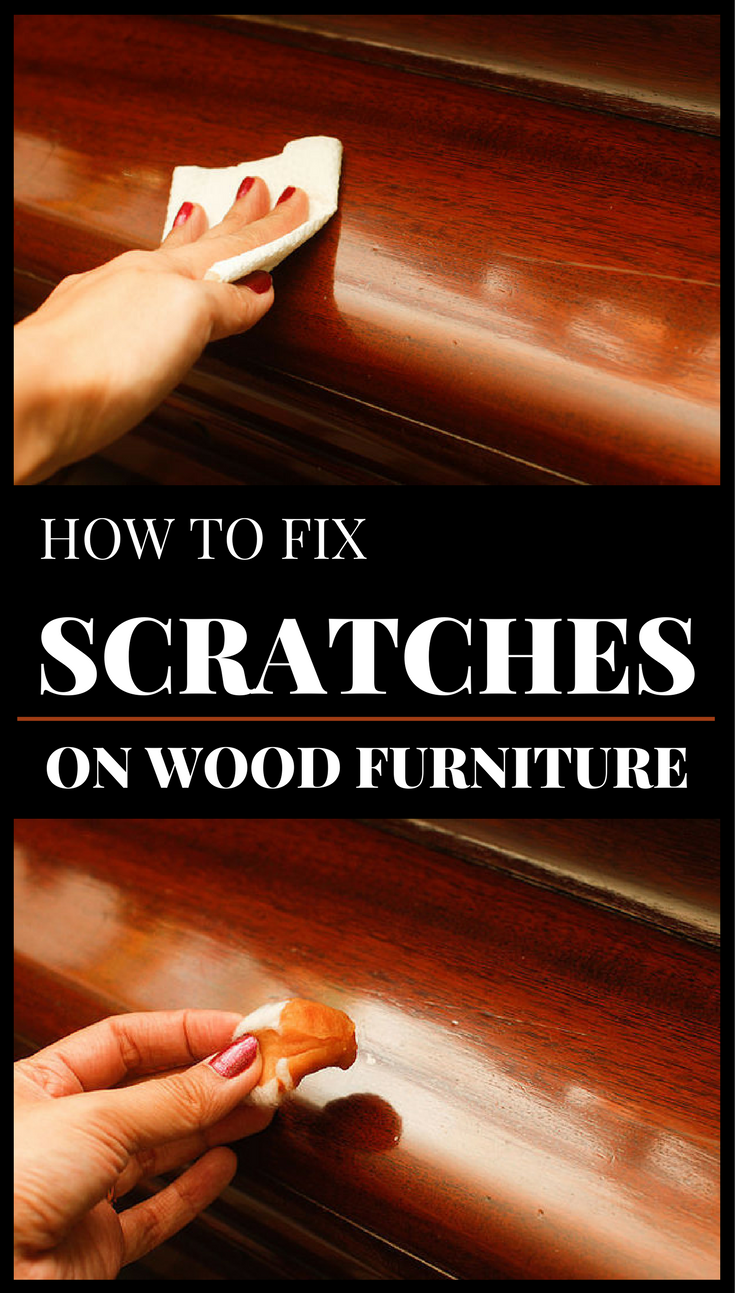 How Fix Scratches Wood Furniture Cleaningtips