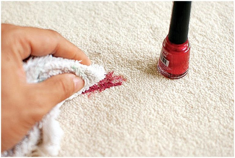 Effective Trick From My Know-How-Mother To Remove Nail Polish Stains From Carpet