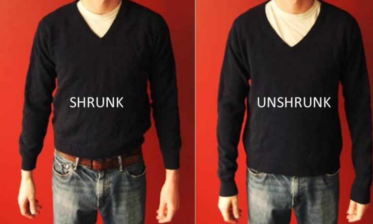 How To Unshrink Clothes?