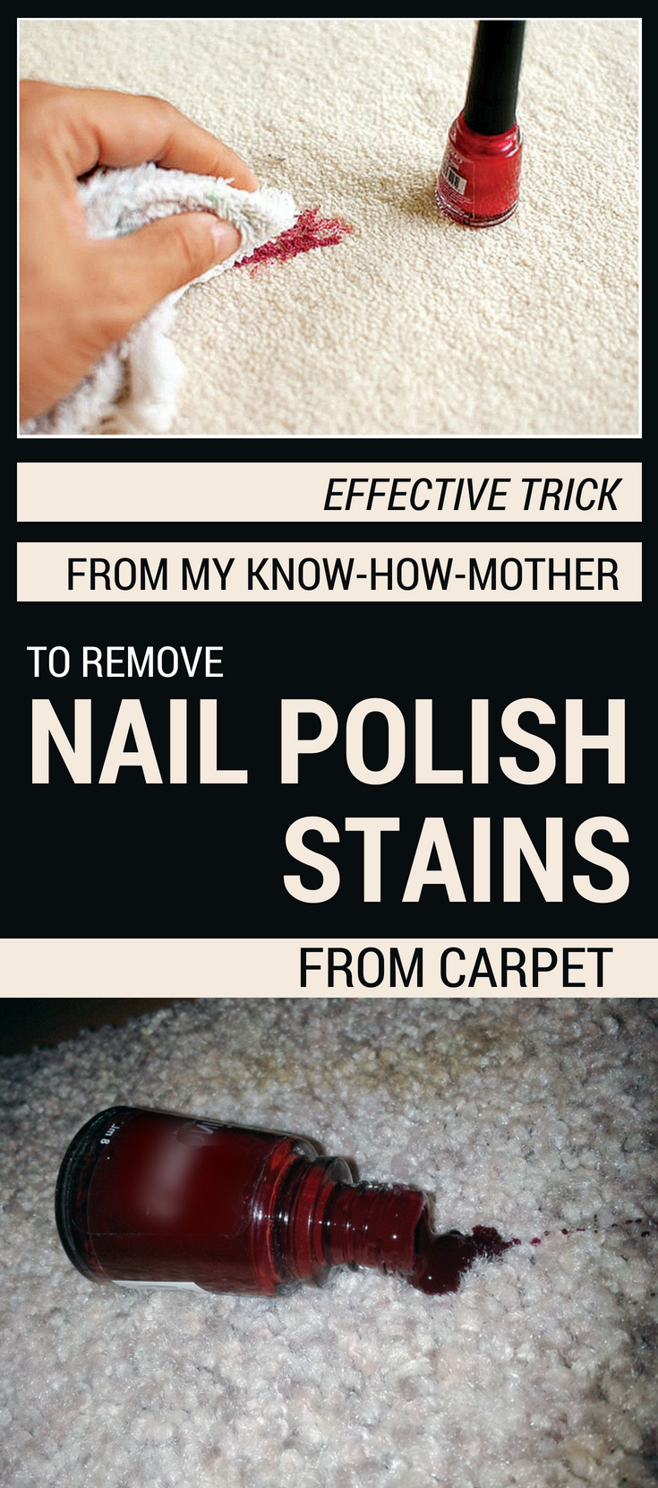 Effective Trick From My Know How Mother To Remove Nail