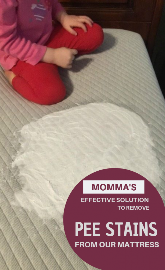 Momma's Effective Way To Remove Pee Stains From Our