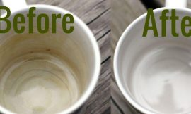 Brushing Trick To Remove Coffee And Tea Stains On Ceramics And Enamel