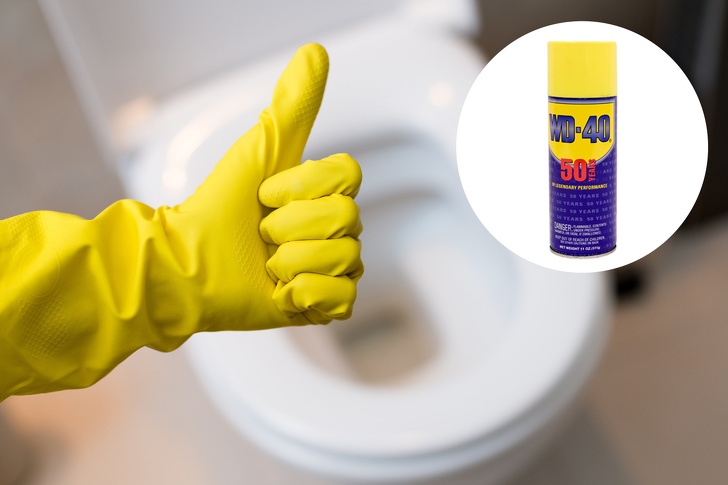 WD-40 – This All-Use Product Will Solve And Dissolve Any Household Problem