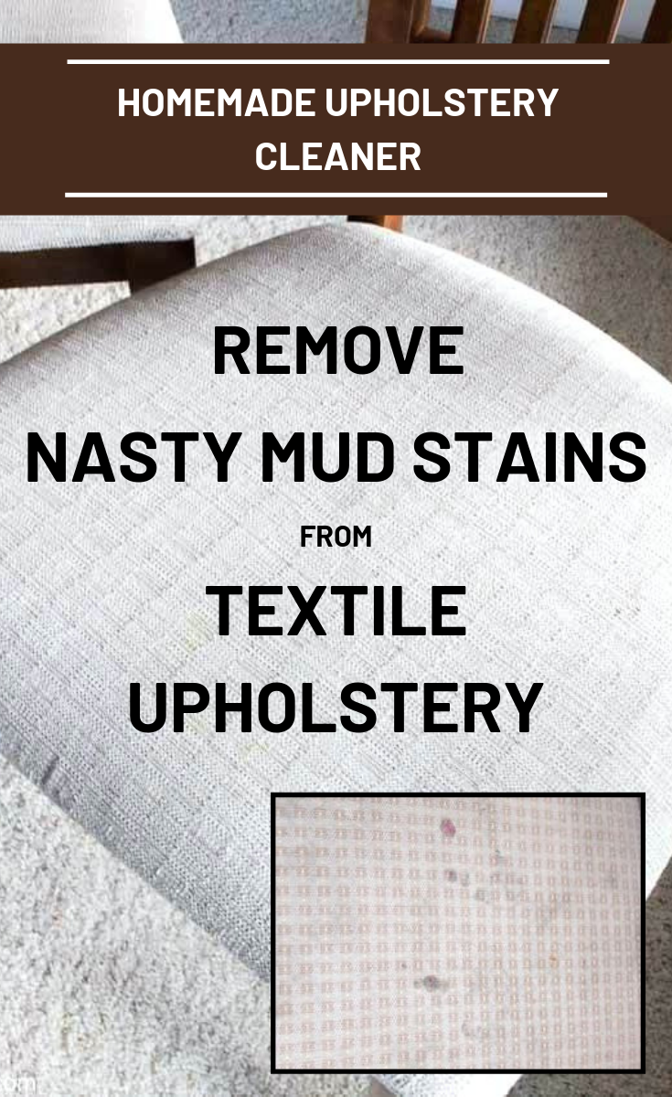 Homemade Upholstery Cleaner: Remove